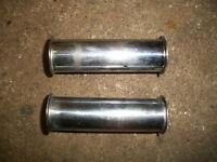 Triumph Push Rod Covers Tubes 500cc T100  94