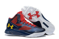Under Armour Curry Clutchfit Drive 2 Sneakers New, Navy / Gold 1258143-414 $120