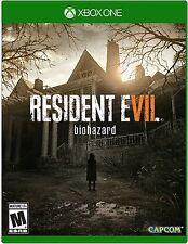 NEW Resident Evil 7 Biohazard (Microsoft Xbox One, 2017)