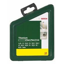 Bosch HSS - Titanium Drill Bit Set ( 13 Piece ) 2607019436 3165140415545#