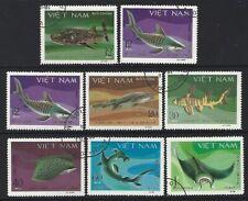 Vietnam 1980 Sc=1070 - 1077 Used Fish