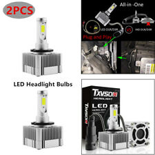 2PCS Waterproof D1S D3S HID Xenon Bulbs Replacement LED Headlight 6000K Lamp Kit