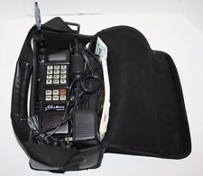 VINTAGE Motorola Cell Star Bag Phone w/ Black Case EXCELLENT Condition! FREE Shp