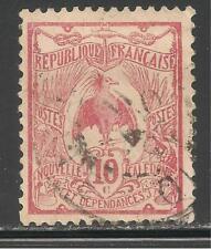 New Caledonia #93 (A16) VF USED - 1905-28 10c Kagu Bird