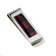 MacQueen Tartan Design Money Clip - XMC1103C-011