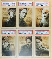 Rittenhouse Game of Thrones Season 2 Gallery Complete Set #PL1-6 - All PSA 10