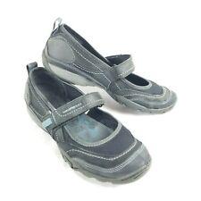Women's 9.5 - Merrell Black/Blue Athletic Mary Jane Strap Comfort Shoes J68174