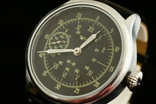 Pilot's watch WSS Vintage military style German vs CCCP WW2 WAR2