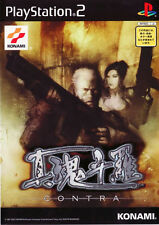 Used PS2 Shin Contra   Japan Import (Free Shipping)