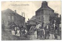 """Feldpostkarte, 1. Weltkrieg, 10.03.1917, """"Unsere Feldgrauen als Erntearbeiter"""""""
