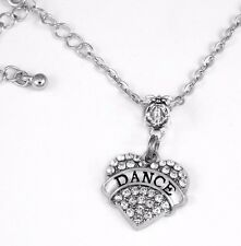 Dance necklace Dancer Gift chain Dancing Present Dancer Pendent Dance Jewelry
