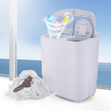 Portable Washing Machine Compact Wash Spin Dry Cycle Laundry with Built-In PUMP