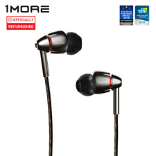1More Quad Driver in-Ear Earphones Hi-Res In ear headsets Earphones -Refurbished