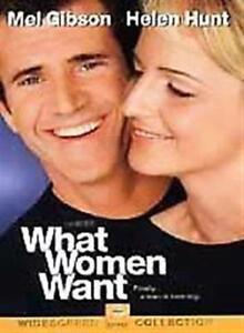 What Women Want (DVD, 2001, Widescreen) NEW