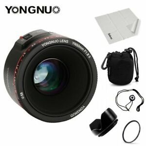 5 * gifts + YONGNUO YN 50mm F/1.8 II Lens Auto Focus AF/MF For Canon 60D 70D 5D2