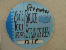 Bruce Springsteen-backstage pass December 8,1992 Philly - Promoter