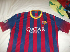 BARCELONA FC REPLICA SHIRT USED SIZE XXL(WOULD FIT AN XL)