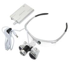 3W Dental LED Oral Surgery Headlight Headlamp Magnifier 3.5X Dental Loupe DY-102