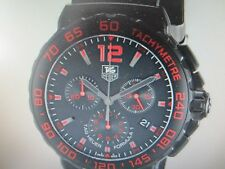 TAG HEUER FORMULA 1 MEN'S WATCH QUARTZ STAINLESS S RUBBER SPORTS CAU111D.FT6024