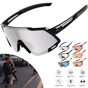 Cycling Sunglasses Goggles Polarized Glasses Anti-UV Photochromic Sports Eyewear