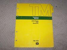 John Deere 165 Backhoe Tech Manual Tm-1081 B8