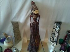 Vintage Indian/Burmese/Thai handmade Stick Puppet In lovely Condition....