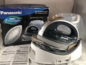 New Panasonic Cordless Steam Iron NI-WL600 360 Freestyle Silver