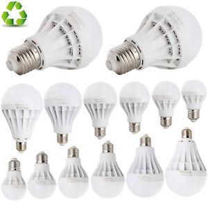 LED E26 E27 Energy Saving Bulb SMD Light 3W 5W 7W 9W 12W 15W 20W Globe Lamp RK