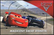 Polska Poland 2017 Fi BLOK 303 Mi BLOCK 262 MNH Magiczny Świat Disneya