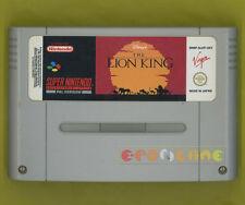 THE LION KING Super Nintendo Snes Versione Europea ○○○○○ SOLO CARTUCCIA