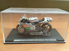 "DIE CAST "" DUCATI 996R SUPERBIKE 2001 IMOLA - TROY BAYLISS "" SCALA 1/24"