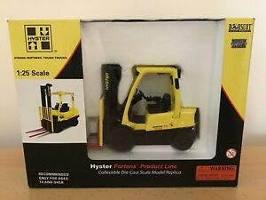 Hyster / Fortens 2.5 Fork Lift 1:25 Scale Die Cast - Norscot Scale Models BNIB