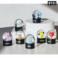 BTS BT21 OfficiaI Authentic Goods Water Globe + Tracking Number