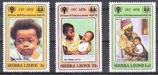 v4494 Sierra Leone/ Intern.Jahr des Kindes   MiNr 578/80 **
