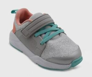 Toddler Girls' Vance Sneakers Gray - Cat & Jack - SIZE 5
