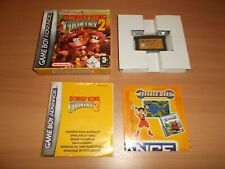 jeu nintendo game boy advance donkey kong country 2 complet TTBE