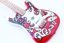 RGM642 jimi Hendrix Saville Miniature Guitar