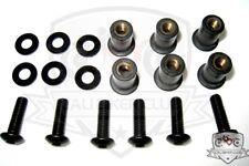 Suzuki BLACK Windscreen bolts bolt kit Katana 600 750 89 90 91 92 93 94 95 96 97