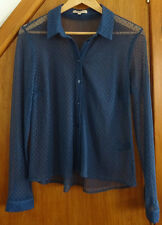 Marks and Spencer Limited Collection Blue Shirt 12