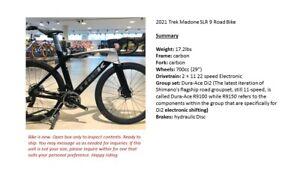 2021 Trek Madone SLR 9 Road Bike