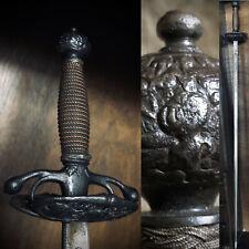 Original Tomas Ayala Transitional Rapier Court Sword Spanish 17th Century