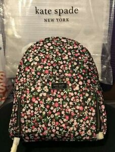 $249 KATE SPADE New York Women's Dawn Park Ave Floral Medium Backpack, NWT!