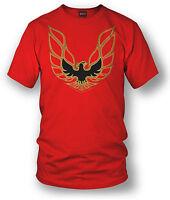 Wicked Metal Shirt - Trans Am Firebird Logo - Red