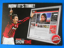 CARTOLINA PROMOCARD N.7853 - MILAN SHOWTIME - INZAGHI - NOW IT'S TIME! - BWIN
