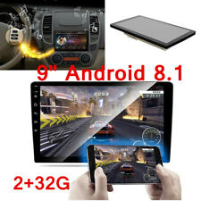 """Double 2DIN 9"""" Android 8.1 Car Stereo Radio MP5 Player RAM 2GB ROM 32GB GPS Wifi"""