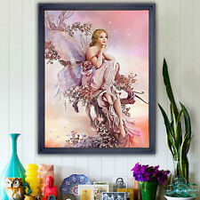 5D DIY Diamond Painting Embroidery Cross Stitch Angel Butterfly Art Home Decor