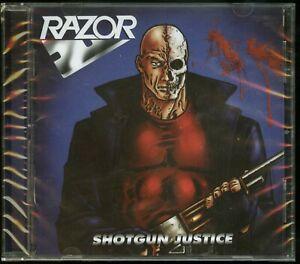 Razor Shotgun Justice CD new