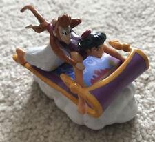 Aladdin and Abu Riding Magic Carpet Rolling PVC Figure - Disney