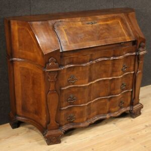 Fore Furniture Secretary Desk Wooden Inlaid Dresser Secrétaire Antique Style 900