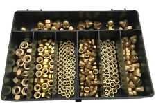M4, M5, M6 & M8 - 270 ASSORTED HEXAGON HEAD NUTS SET, FULL NUTS AND DOME NUTS